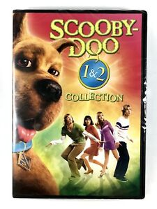 SCOOBY-DOO: THE MOVIE + SCOOBY-DOO 2: MONSTERS UNLEASHED (DVD) NEW SEALED 2 Pack