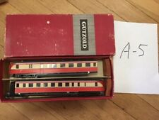 set_A_5: old DDR piko gutzold triebwagen vt 137, 2 cars, boxed