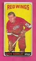 1964-65 TOPPS TALL # 9 RED WINGS DOUG BARKLEY  GOOD CARD (INV# J0048)