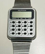 Micronta Radio Shack Calculator Watch