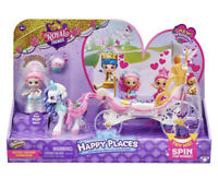 New Shopkins Happy Places Royal Crown Carriage Royal Trends Wedding Set