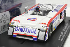 FLY GB26 CHEVRON B21 LE MANS 1973 NEW 1/32 SLOT CAR IN DISPLAY CASE