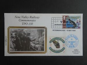 RWC Benham Silk Official First Day Cover Nene Valley Railway dated 1988 R5