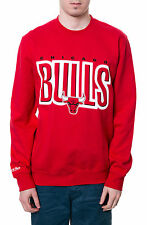 "Mitchell and Ness The Chicago Bulls Sweatshirt  ""XL"" Free Shipping"
