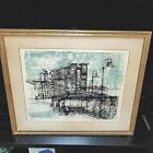 RENZO VESPIGNANI Lithograph Artist Signed and Dated '60 Ltd Edition