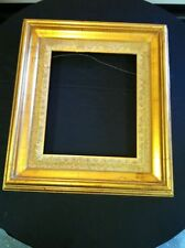"Antique 19"" x 17"" Gold Leaf Ornate Picture Frame-Shabby French Style"