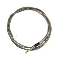 3.5mm Jack DIY Earphone Audio Cable Headphone Repair Replacement Wire Cord