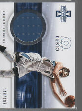 RICKY RUBIO  2012-13 PANINI INNOVATION AUTHENTIC JERSEY CARD #17   /199