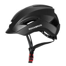 RockBros Helmet Commuter City Cycling Motorcycle Bicycle Protective Helmet Black