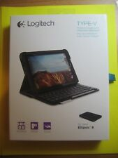 Logitech Type-V Protective case with integrated keyboard for Ellipsis 8.