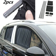 Adjustable 2pcs Car Side Window Shade UV Sunshades Window Film Protector Covers