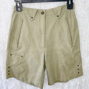 JAMIE SADOCK Bermuda Shorts Polysonic MICROFIBER GOLF Cool Dry High Rise Size 4