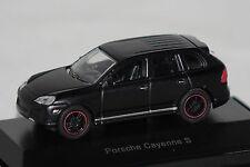 Porsche Cayenne S matt schwarz 1:87 Schuco neu + OVP 25957