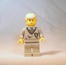 LEGO Harry Potter Draco Malfoy Minifigure 4733 4735 4711 Yellow Head Genuine