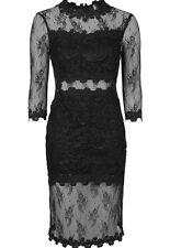 Lace Regular Size Topshop Midi Dresses for Women