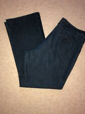Lee Womens Jeans Size 18 Medium Natural Straight Leg Pants Just Below Waist