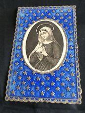 Image Vierge Chretien Holy Card Santini Canivet Bouasse Lebel Virgo Christian