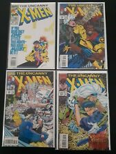 The Uncanny X-MEN - 10 Comics  VF+/NM