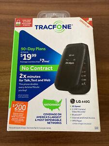 TracFone Wireless LG 440G Smartphone Flip Phone 3G Bluetooth - Factory Sealed