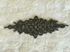 Beautiful Trimming Motif hand Sewing Iron on Bridal Dress belt Clothes Applique