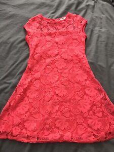 RIVER ISLAND Girls' Lace Dress - Size 7-8 Years
