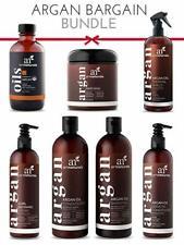 Argan Bargain Bundle - 7pc Hair Care Set - For Soft Smooth Tangle Free Hair