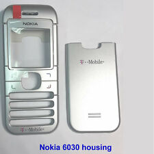 100% Genuine Nokia 6030 Front with Screen Lens panel + Back cover Fascia Housing