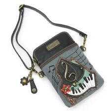 Charming Chala Musical G Clef Piano Cell Phone Purse Mini Crossbody Bag