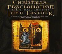 ohn Tavener - Christmas Proclamation - Tavener: Song for Athene , [CD]