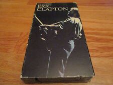 1989 The Cream of ERIC CLAPTON VCR Video Tape