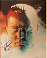 APOCALYPSE NOW: Martin Sheen Autographed Framed 8x10 Movie Still