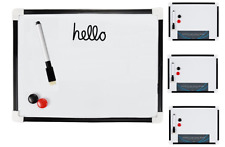 A4 Whiteboard With Pen Eraser & 3 Magnets For Lists Notes Reminders