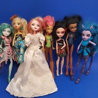 MONSTER HIGH DOLLS - Lot of 7!