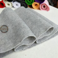 Soft Felt Fabric Metre 1.4mm Thick Non Woven DIY Craft Material Assorted Colours