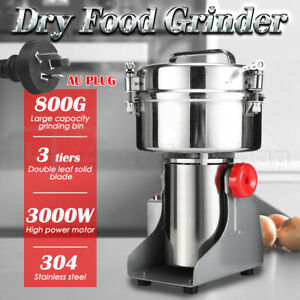 800g Electric Dry Food Grinder Machine Grains Spices Hebals Mill Cereal Grinding