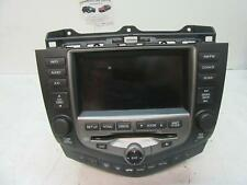 HONDA ACCORD RADIO/CD NAV HEAD UNIT for replacement only,  EURO (VIN JHMCL), 0