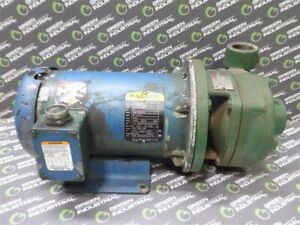 USED Flowserve SMP-2000 2X1.5X5 Centrifugal Pump with 3HP Baldor Motor