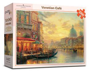 """Jigsaw Puzzles 1000 Pieces """"Vatican Sunset"""" / Thomas Kinkade"""