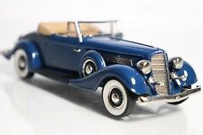 "1:43 Brooklin Models B.C.029 - 1934 Buick M60 Convertible Coupe ""Freedom Blue"""