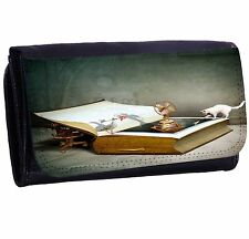 Book Of Dreams Bi-fold Zipper Bill & Card Holder Purse Long Wallet
