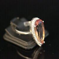 925 Sterling Silver Handmade Gemstone Turkish Alexandrite Ladies Ring Size 6-9