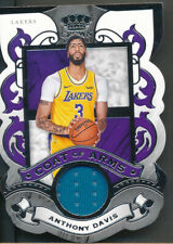 2019-20 Crown Royale Coat of Arms #AD Anthony Davis Jsy