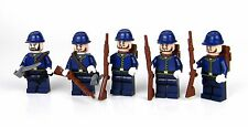 Union Army Soldier Squad made with real LEGO® army builder minifigures