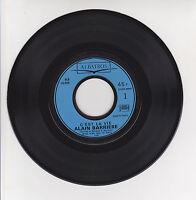 """Alain BARRIERE Vinyle 45T 7"""" SP C'EST LA VIE -NOTRE RUE DE PARIS -ALBATROS 10006"""