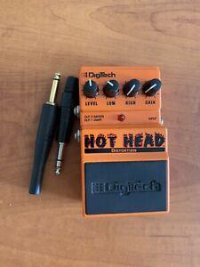 Gitarrenpedal Gitarren Pedal Digitech Hot Head Distortion mit Mixerausgang