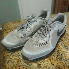 Nike Air Max 2014 Wolf Gray Black 621077-020 Men's Running Shoes Sz 13