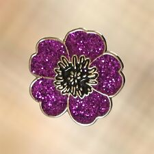 NEW Mini 2019 Purple Poppy 'Animals Of War' Charity Lapel Badge Pin Brooch