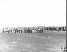 PHOTOGRAPH IBSLEY AIRFIELD CAR RACE 1953 AUSTIN SEVEN BPH 995 RINGWOOD FOTO 1