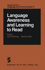 Springer Series in Language and Communication: Language Awareness and...
