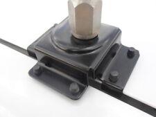 BONNET / BOOT MOUNT BLACK BRACKET, DRILL NO HOLES FOR  ANTENNA VHF UHF CB GME